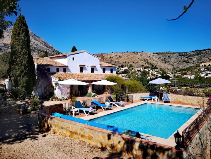 Gorgeous restored traditional finca in Javea