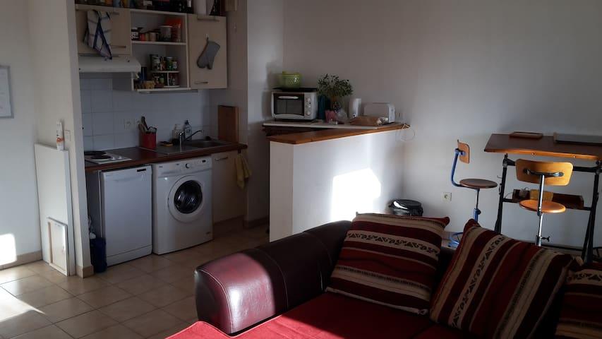 T2 étudiant quartier StEloi (5min du centre ville) - Poitiers - Apartament