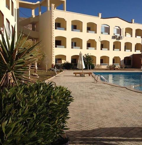 Dream Studio with pool in Hurghada