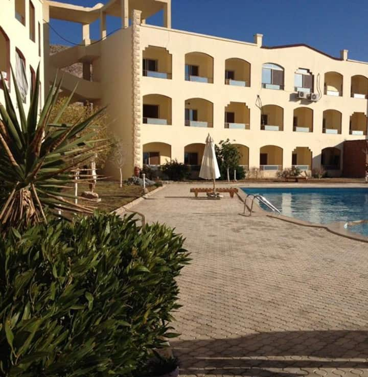 Dream Studio with pool in Hurghada