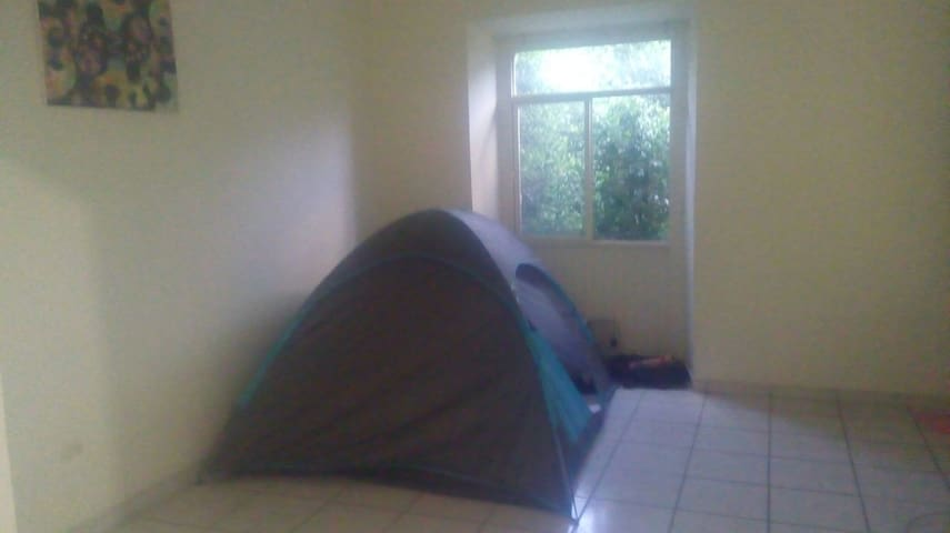 Camping in our Depa/  Centro FNSM17