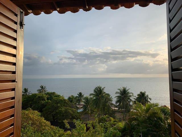 Casa com vista para o mar, Praia de Catuama, PE