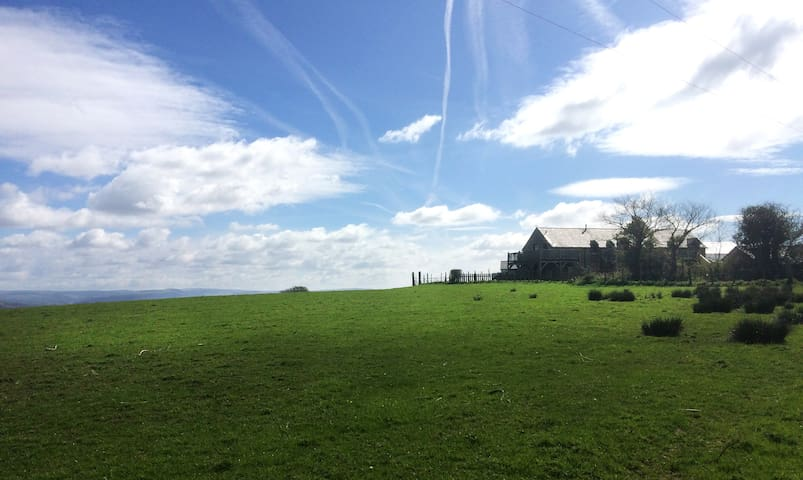 Hayloft: Self-Catering Cottage at Clyne Farm - Mayals - House