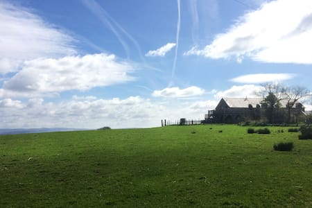 Hayloft: Self-Catering Cottage at Clyne Farm - Mayals
