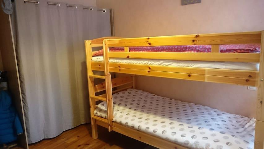 Chambre 2 personnes en montagne - Laruns - Apartment