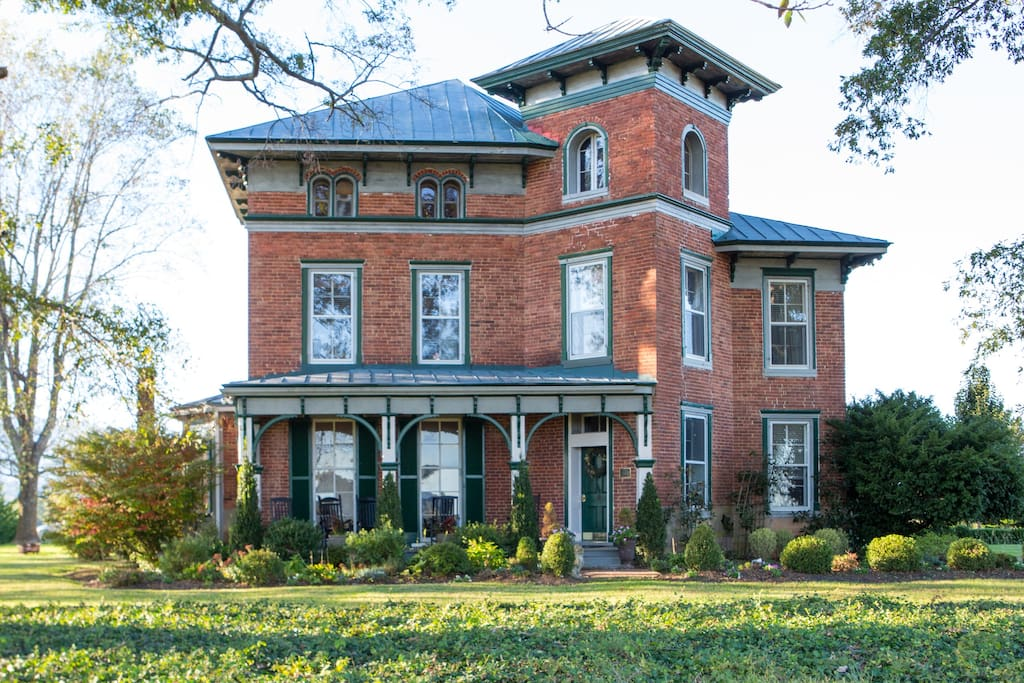 Listed on the National Historic Registry, Fairview is a local landmark.