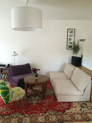 Spacious flat + garden in Buda, close to transport - Budapest - Pis
