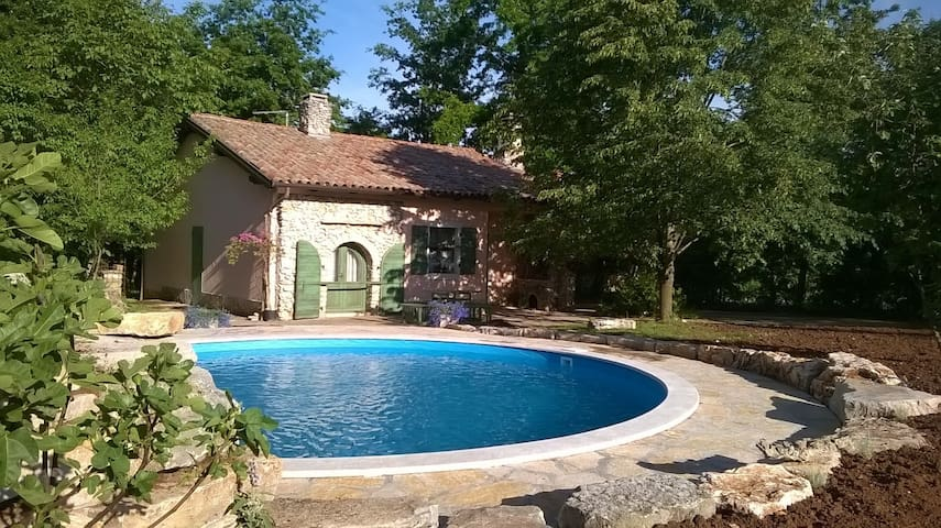 House for 6+2 persons with pool R63987