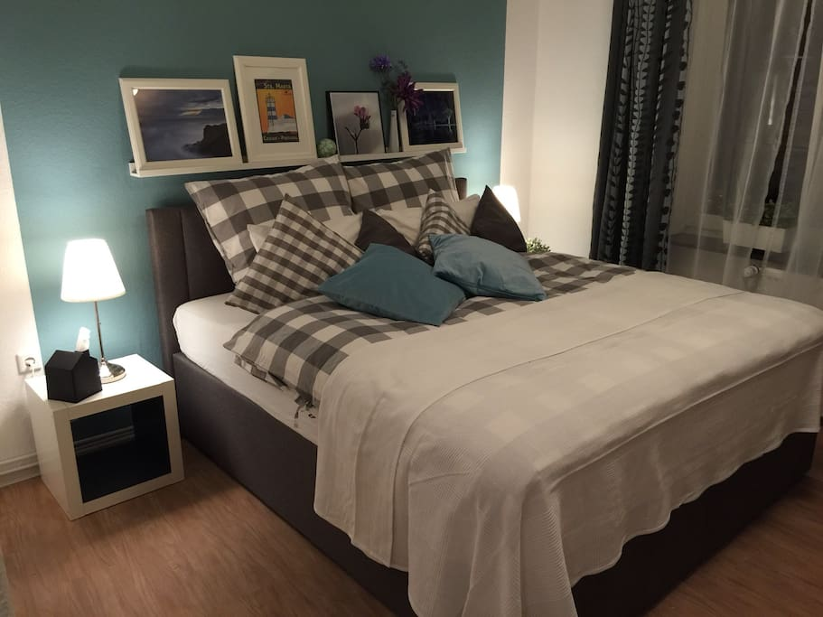 Das Schlafzimmer - hier finden Sie Ihre wohl verdiente Ruhe!