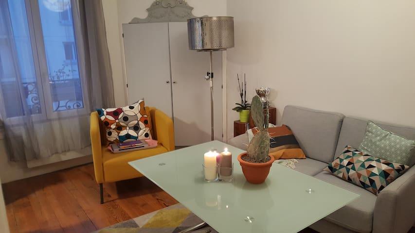 Appartement idéal pour visiter Paris à deux.
