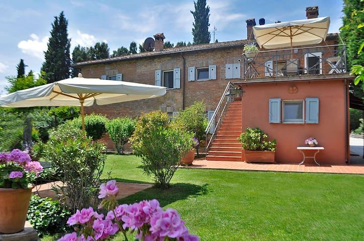 Stijlvolle woning in mooi landhuis met zwembad - Castiglione del Lago - Apartment
