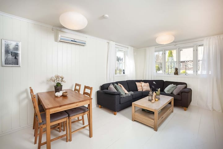 Light, spacious and central apt. 40 mnts from Oslo - Nesodden - Condomínio
