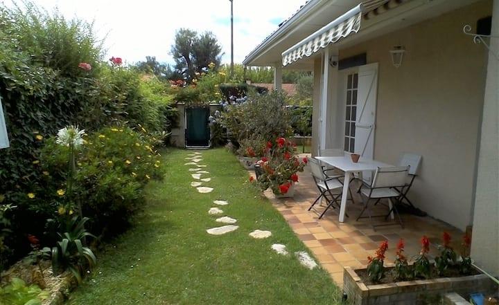 Maison tout confort avec jardin