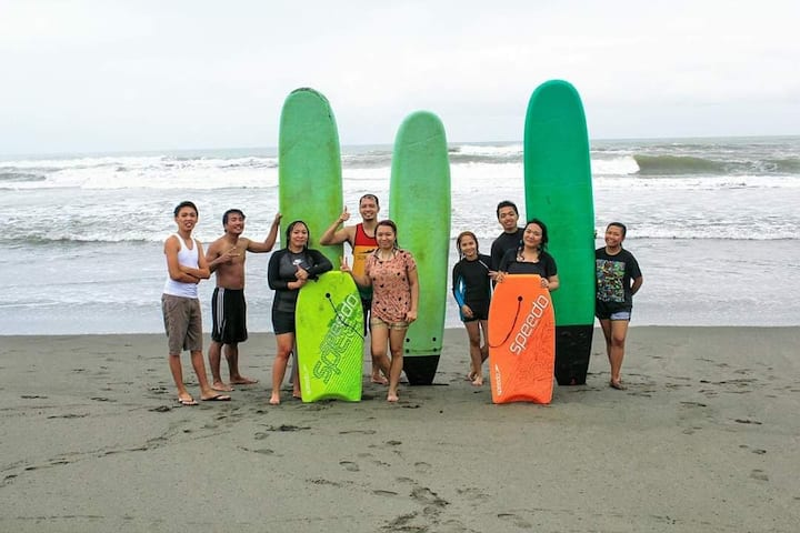 Baler Fair Haven Lodging and Surfing Beach Camp