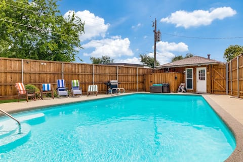 Newly Listed - Private Pool House w/ Fenced Pool