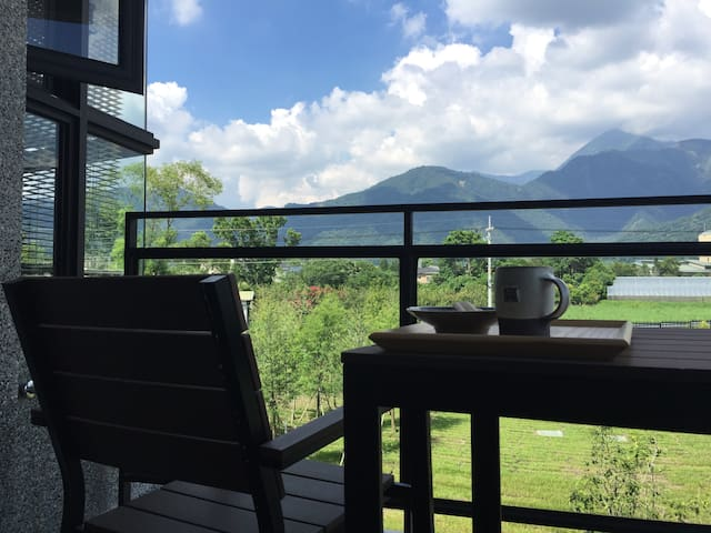 FamilyRoomMountain Surrounded Private Guest House - Puli Township - 別荘