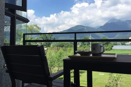 2016新開幕四人房 群山環繞 找尋旅行的意義  埔里錯喜歡旅棧 - Puli Township - 別荘