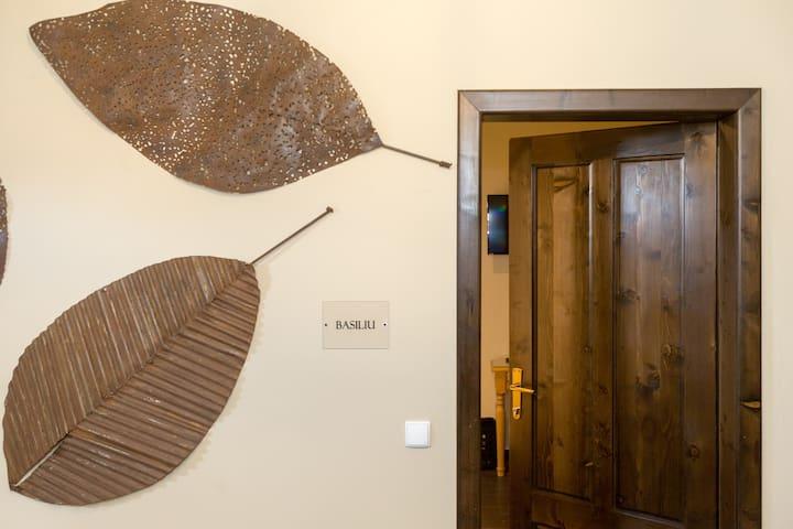 """""""Basiliu"""" Twin Room with en suite bathroom"""