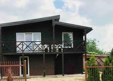 Cozy, modern entire house for stay in Birzai