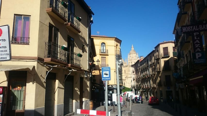 DUPLEX EN LA PLAZA MAYOR - Segovia - House