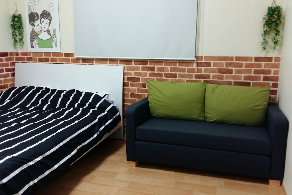 room1 with sofa bed