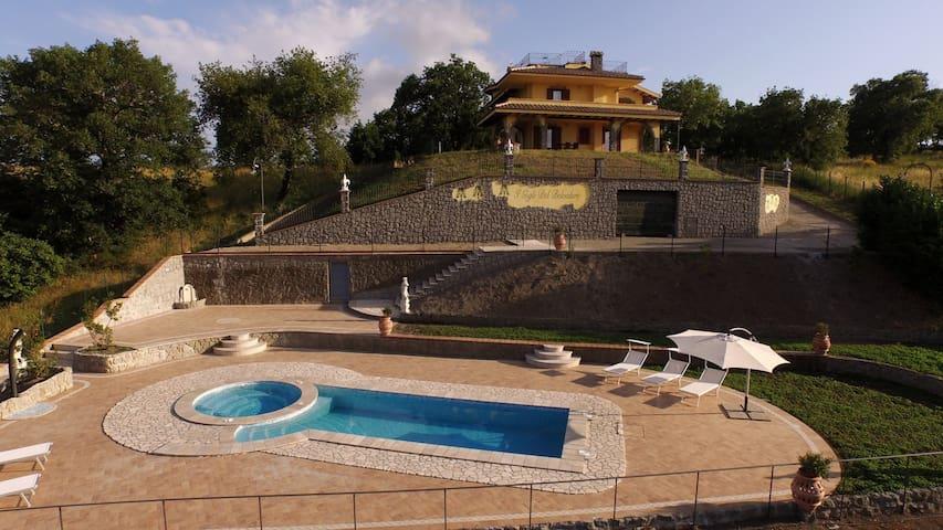 Villa Lago Bolsena lake view - Montefiascone - House