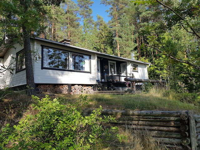 Authentic Finnish Lake Cottage 45min from Helsinki