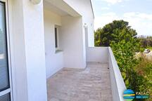ANTIQUE SUIT - terrace just 50 meters from the sea line and three closest beaches.
