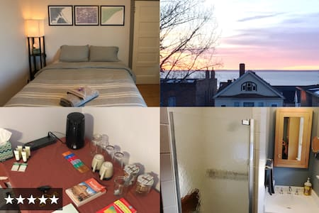 BEST BED in Duluth — cozy, quiet, walk to downtown - Duluth - บ้าน