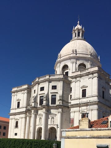 Alfama Spacious apartment with view of the Panteao - Lisboa - Wohnung