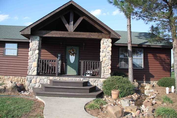 (The Outdoorsman)  Your woodsy getaway