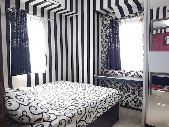 2-Bedroom Suite at Anggun Properti Bogor Valley