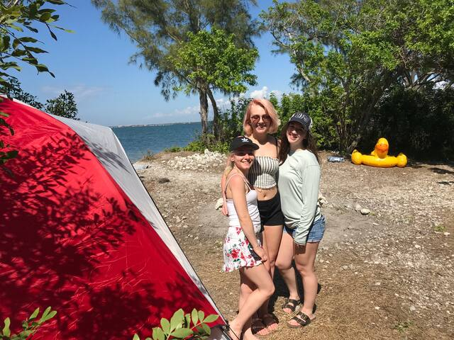 Sea breezes & Sunrise w/ secluded Island Camping 2