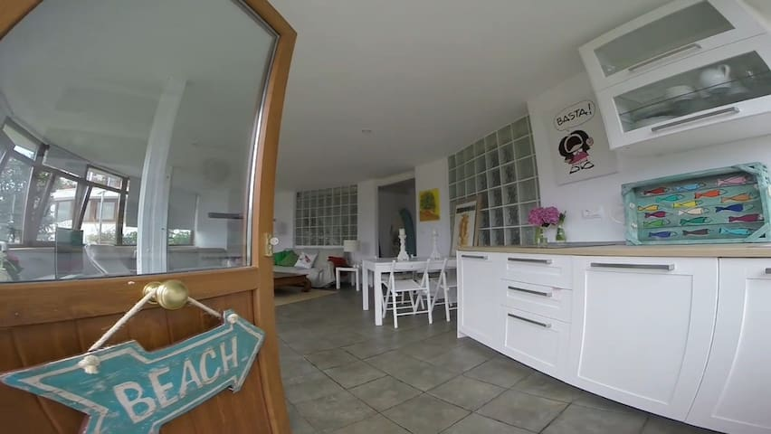 Apartamento ideal entre dos playas. - Suances - Hus