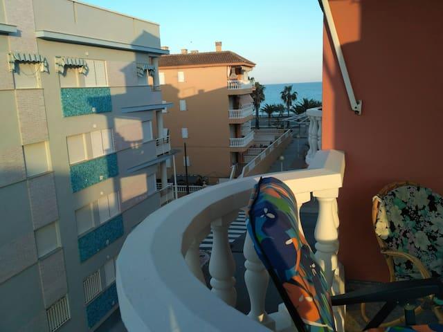 Piso con vistas a la playa - El Grau de Moncofa - Apartment
