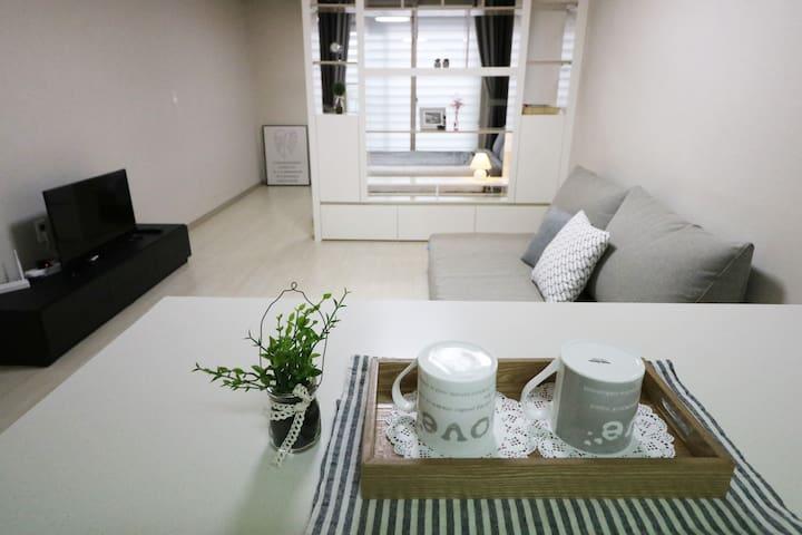 NEW OPEN★cozy house~수성구 황금동 신축아파트*초역세권 - Suseong-gu