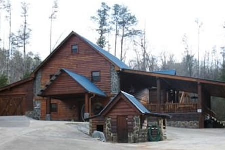 The Lodge at Hideaway Hollow- Copperhill TN - Copperhill - Chatka