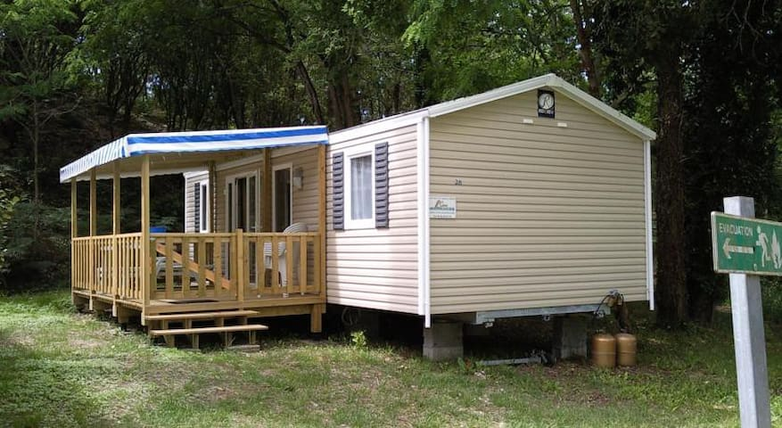 Mobil home 4/6 Pers. Camping 4****  proche Royan - Saint-Augustin