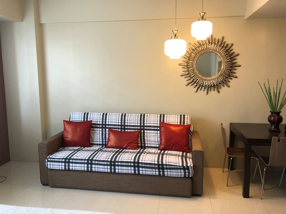 Living area - Sofa bed (can accommodate 2 persons)