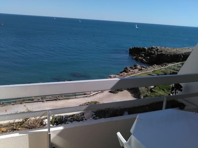 !! Appartement standing à Sète , vue sur mer !! - Sète - Daire