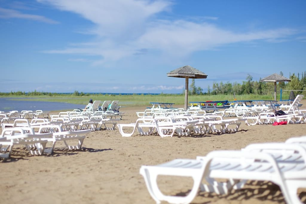 Beach 5 minutes from resort (free shuttle to beach)