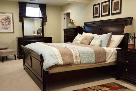 Comfy stay in Wine Country near Potomac River - Leesburg - Casa
