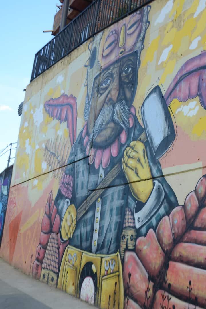 Graffitis que cuentas historias.