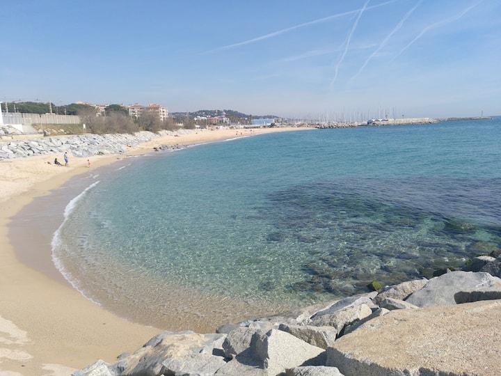 Hogar frente al mar/beachfront home