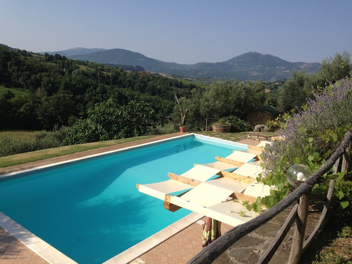 Casale Napoletano - Spectacular Umbrian Villa