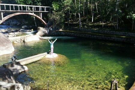 Rancho São Carlos: belíssimo sítio com cachoeiras - Itatiaia