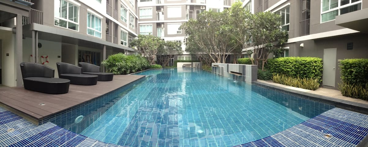 New Studio room with Lanscape view - Rayong - Apartment