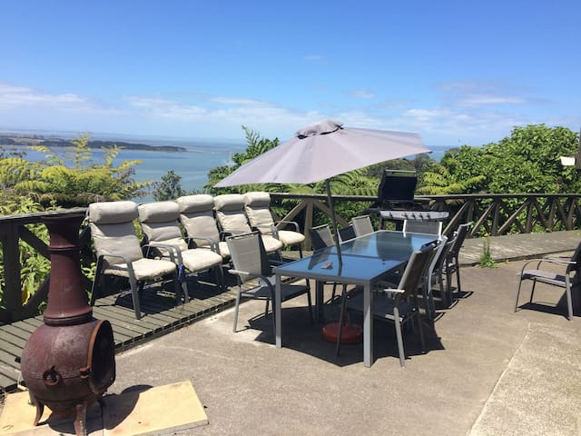 Absolutely stunning 180 degree sea views - Auckland - Apartamento