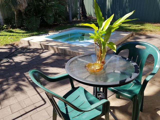 The Frangipani Tree..cool, comfy and convenient