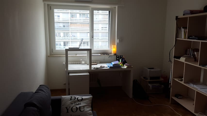 Bright and spacious Room in Lausanne suburb - Chavannes-près-Renens - Appartement